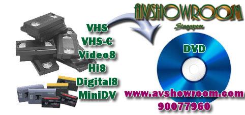 8 to dvd converter machine
